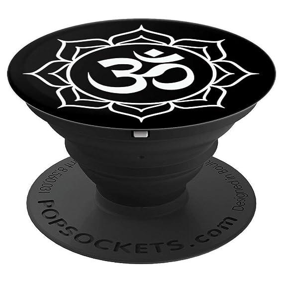 Amazon Black White Om Mandala Lotus Flower Yoga Ohm Symbol New