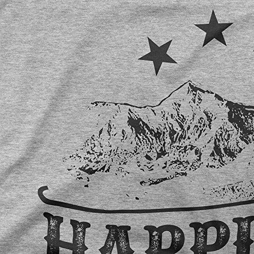 Happines Is A Journey Not A Destination Motivation Femme T-shirt