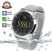 Bluetooth Waterproof Smartwatch Pedometer Reminder Review