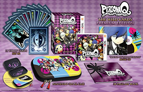 Persona Q: Shadow of the Labyrinth - The Wild Cards Premium Edition, Nintendo 3DS -