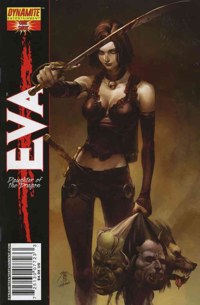 Eva: Daughter of the Dragon #1A VF/NM ; Dynamite comic book