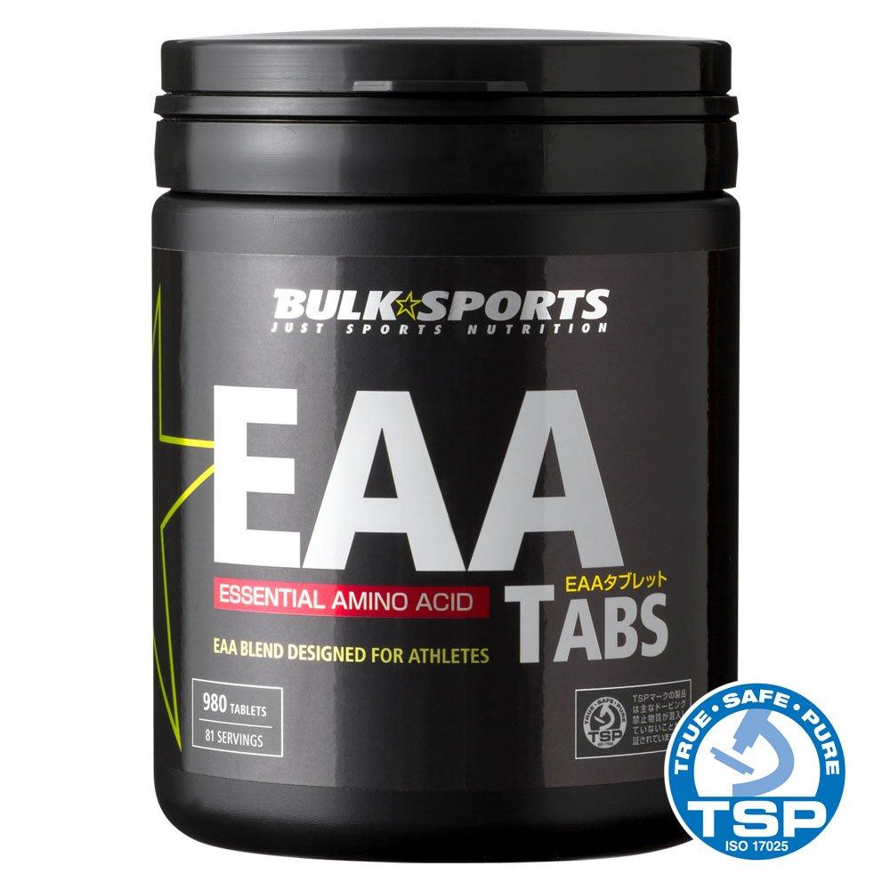 バルクスポーツ アミノ酸 EAAタブレット 980タブレット B00H99I30O
