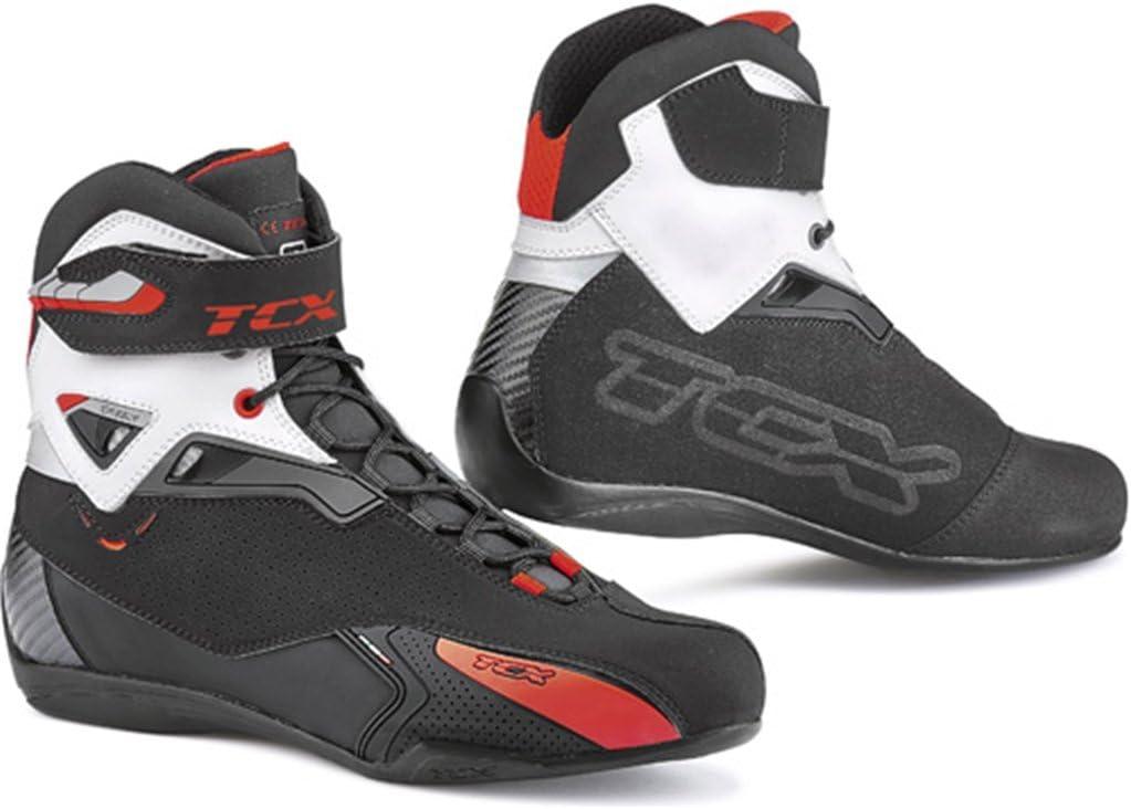 TCX Rush Motorradstiefel schwarz//blau 41 schwarz//blau
