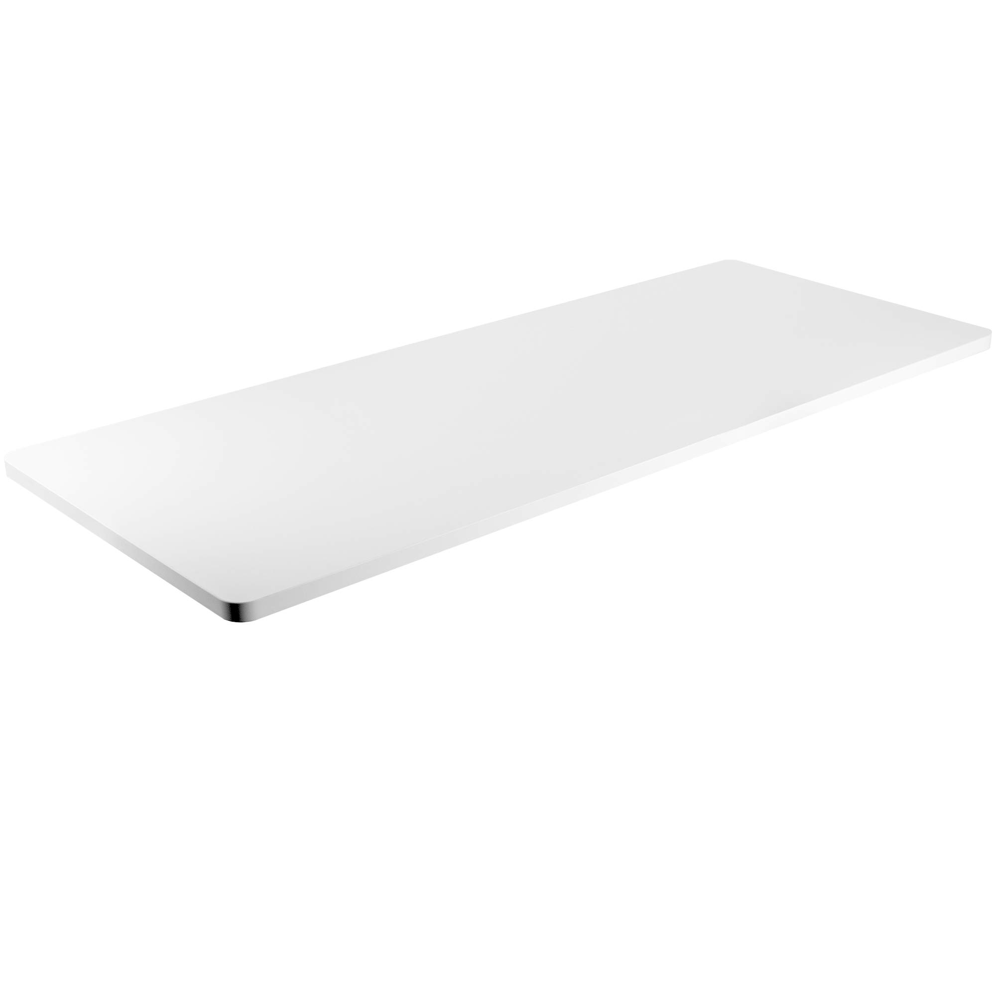 VIVO White 60 x 24 inch Universal Table Top for Standard and Sit to Stand Height Adjustable Home and Office Desk Frames (DESK-TOP60W) by VIVO
