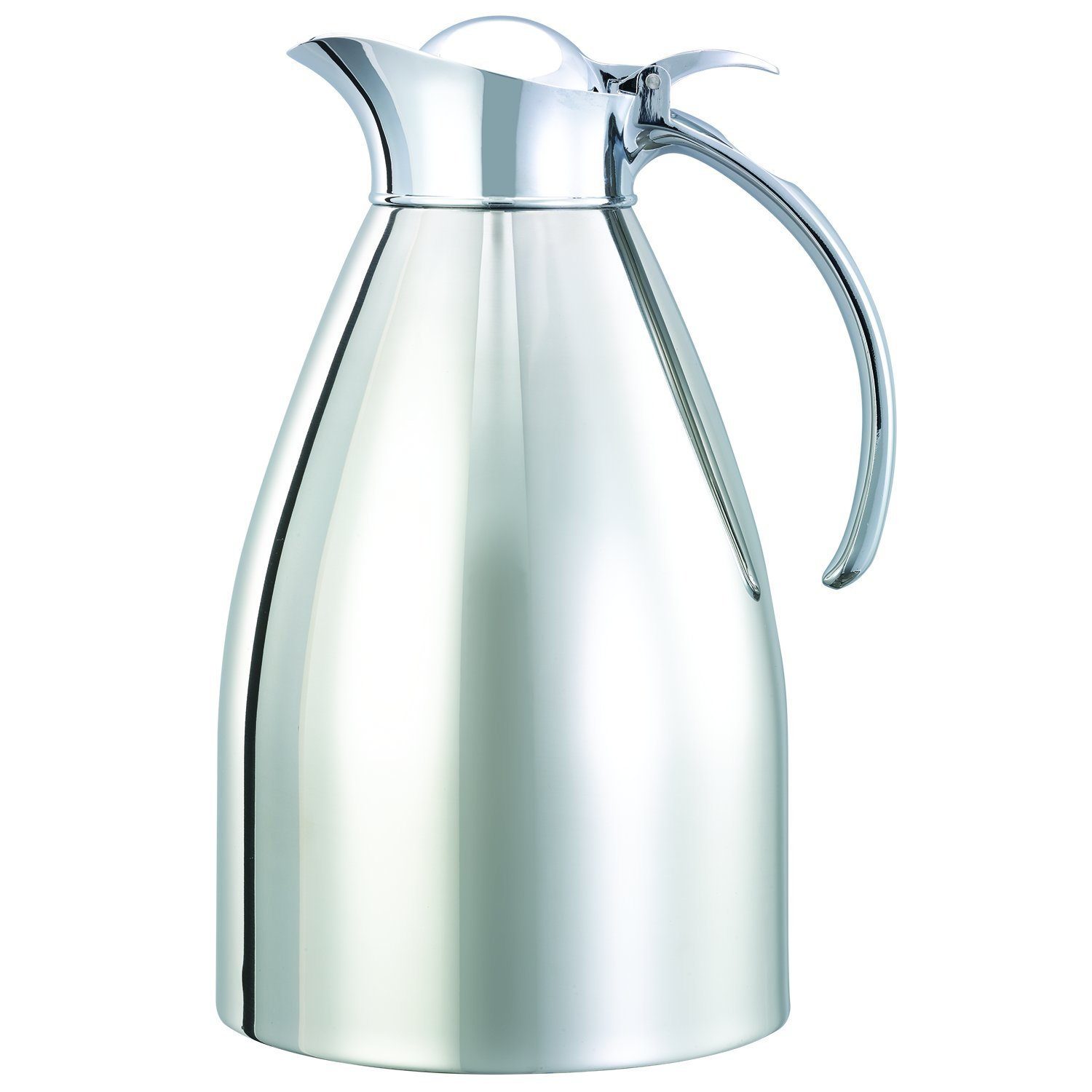 Service Ideas 982C15 Carafe, Stainless Steel, Polished, 1.5 L