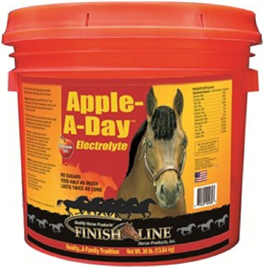 Finish Line Horse Mineral Electrolyte Supplement. Helps Keep Horses Hydrated. No Sugars or Dyes Added