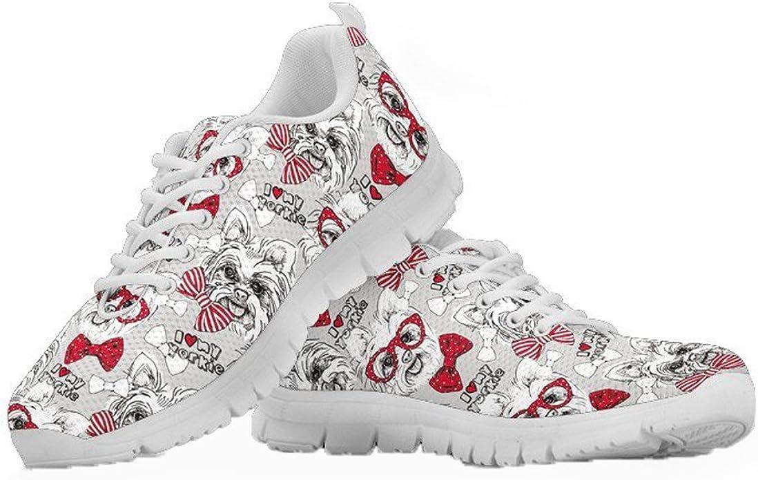 Coloranimal - Zapatillas de deporte planas para mujer, para correr ...
