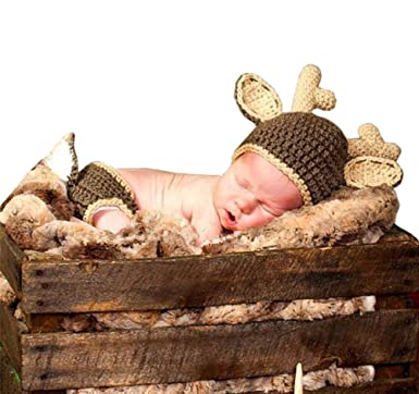 Amazon.com: pinbo Baby Boys fotografía prop Cute Animal ...