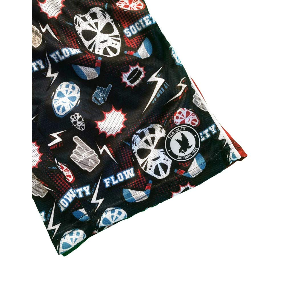 Flow Society Boys Hat-Trick Attack Shorts