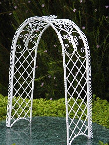 Wire Garden Trellis With Lights - 7