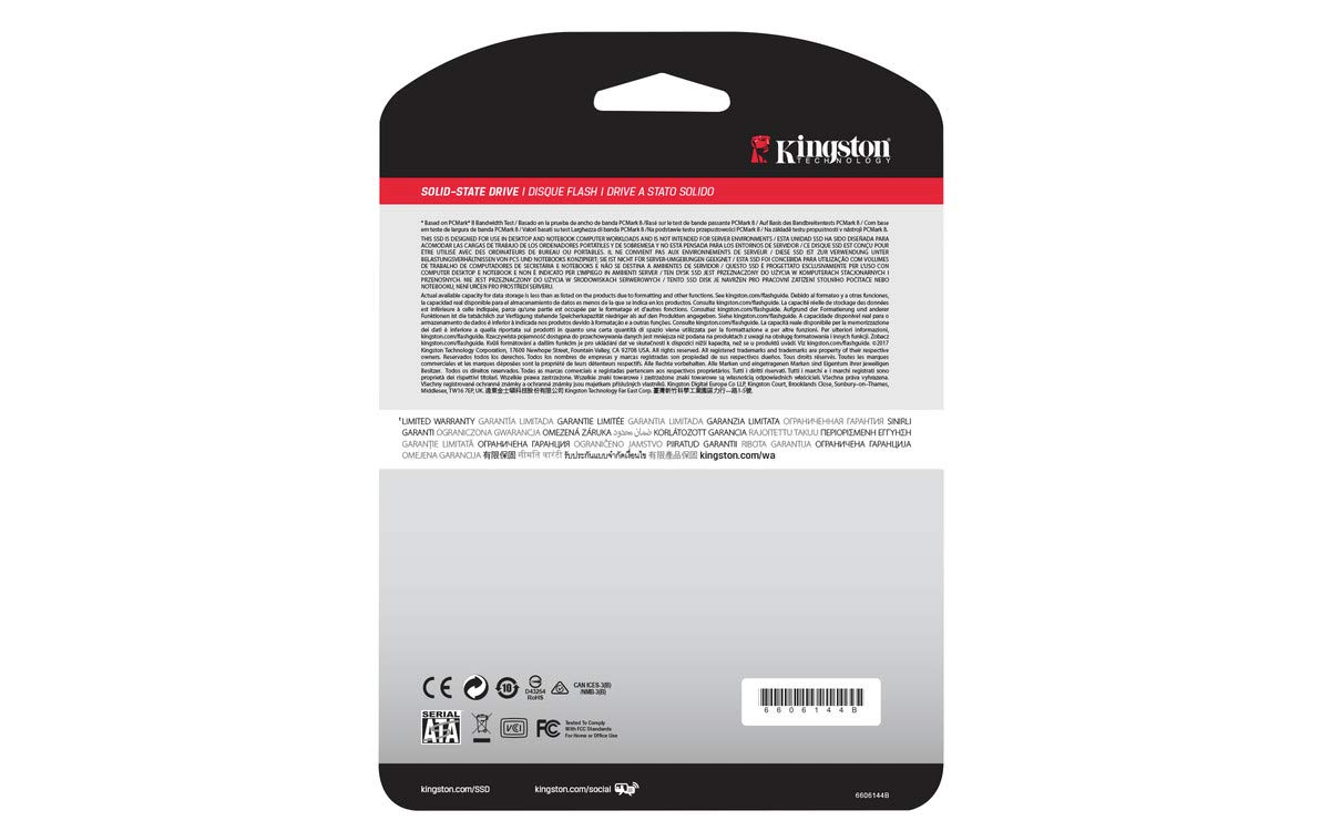 Kingston A400 SSD 960GB SATA 3 2.5'' Solid State Drive SA400S37/960G - Increase Performance by Kingston (Image #5)