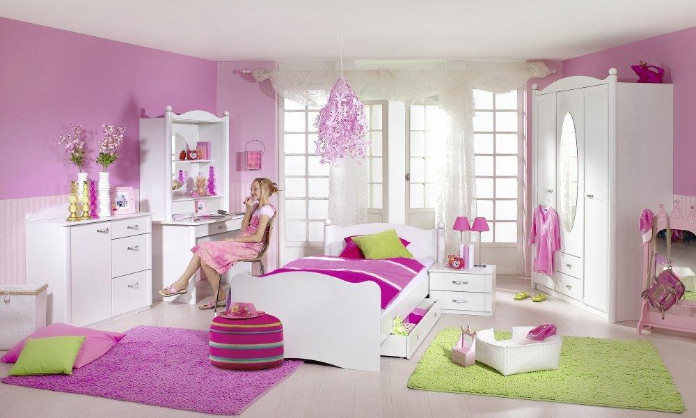 Rauch Kinderzimmer Jugendzimmer Lilly 7 Tlg. Komplett Set In Weiss Online  Bestellen