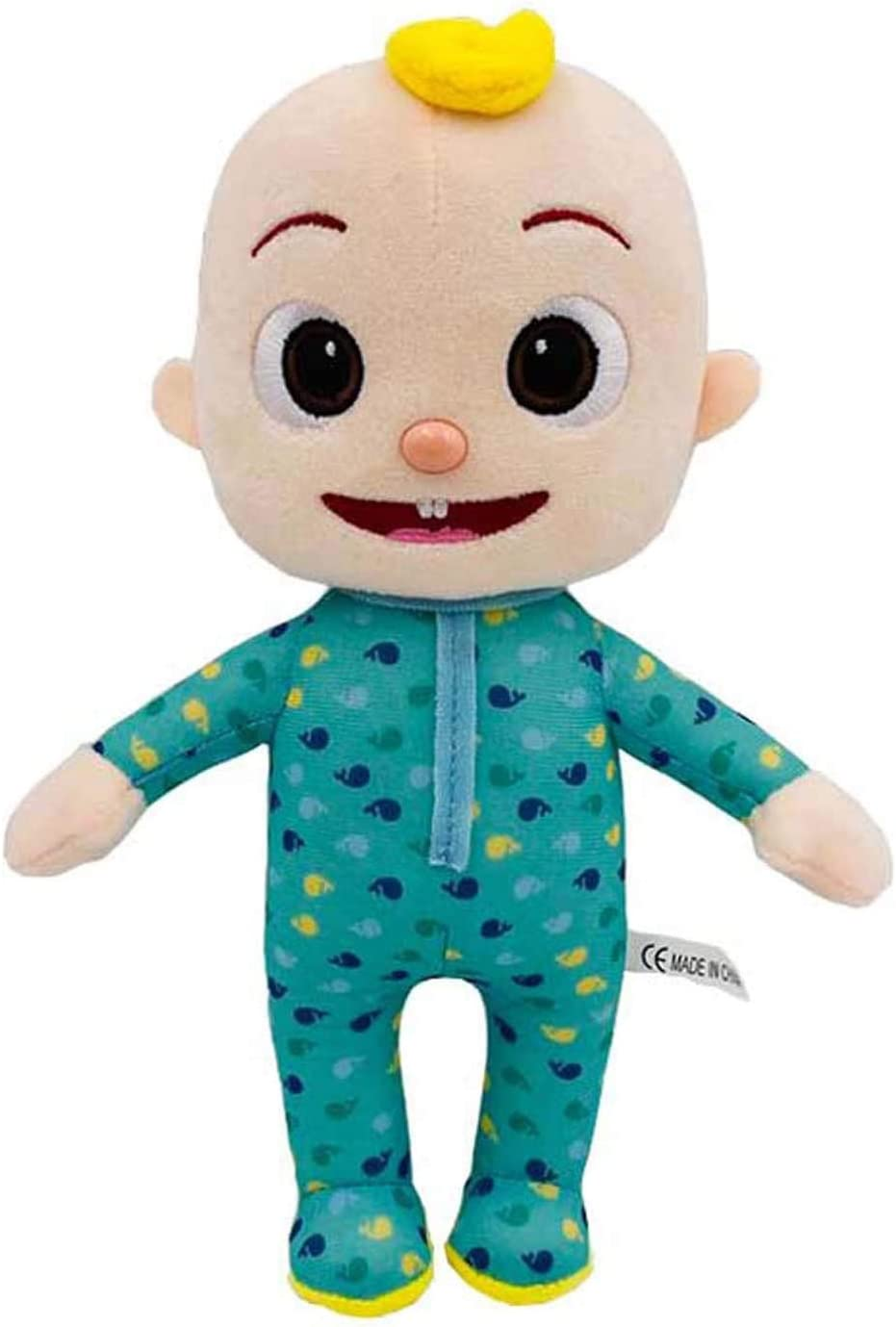 FURUDONGHAI Cocomelon Toys JJ Plush Toy for Boy Girl Soft Stuffed Kids Birthday Gift Toys