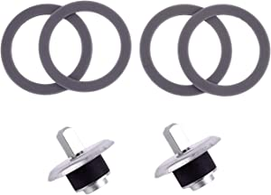 Timsec 4 Packs Blender Gaskets and 2Pcs Coupling Stud Slinger Pin Kit BLSTAC-K, Updated Silicone O-ring and Blender Drive Socket, Compatible with Oster and Osterizer Blender