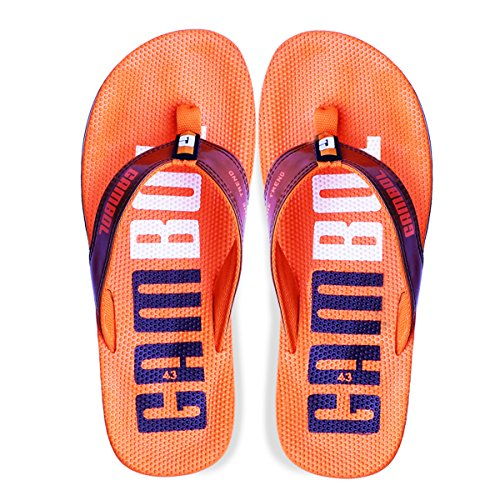 Gambol Mens Sandals Shoes - Zapp Style Orange