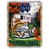 NCAA Notre Dame Fighting Irish Home Field Advantage Woven Tapestry Throw, 48' x 60'