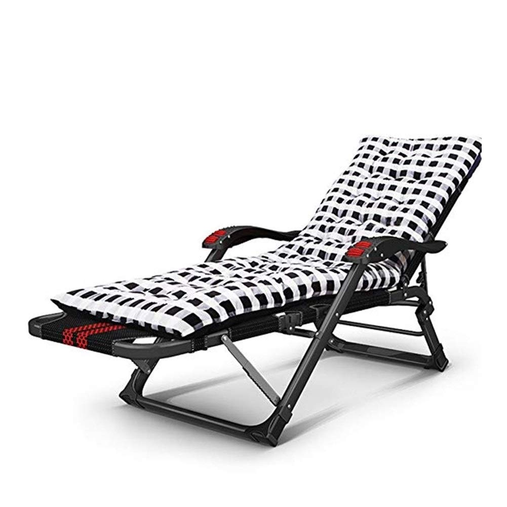 YYTLTY Folding Chair Deck Chairs, Beach Chairs, Multi-Purpose Siesta Bed, Portable Couch, Available in All Seasons,Foundation Load Capacity 150kg (Color : C) by YYTLTY