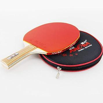 SHJMANPP Deportes Pala De Ping Pong Raquetas De Tenis De Mesa ...