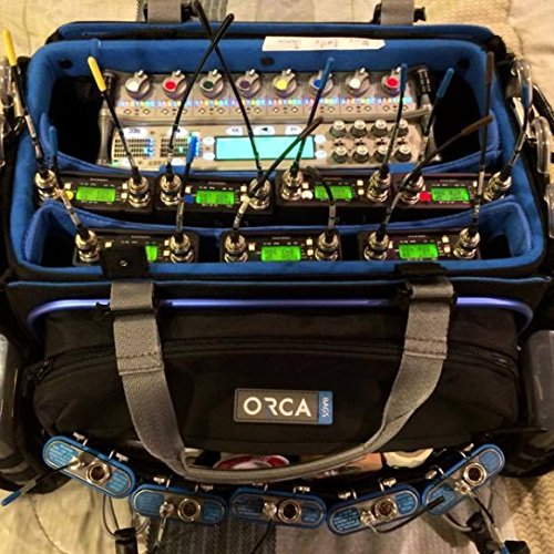 Orca OR-34 Audio Bag w/ TAI Audio Cable Strap by Orca (Image #2)