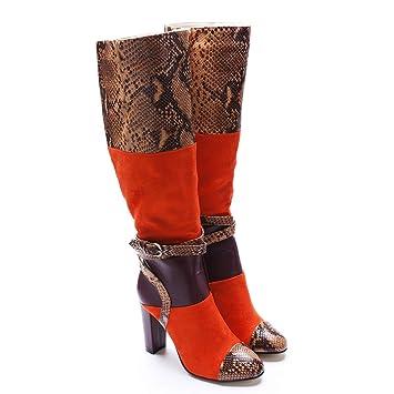 Damen Oberschenkel Hoch Hnm Oberschenkelhohe Stiefel Boots ZOkXuTPi