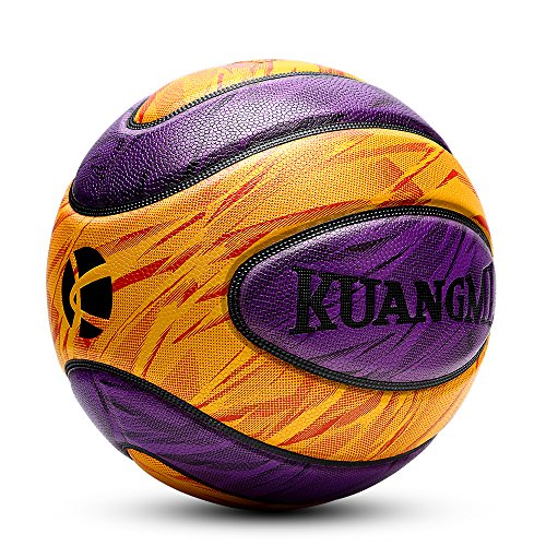 """Kuangmi Camouflage Fancy Basketball Outdoor Freestyle Ball Official Size 7 29.5"""""""