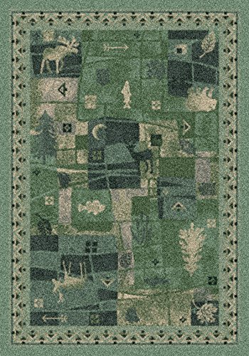 Milliken Signature Collection Deer Trail Rectangle Area Rug, 10'9