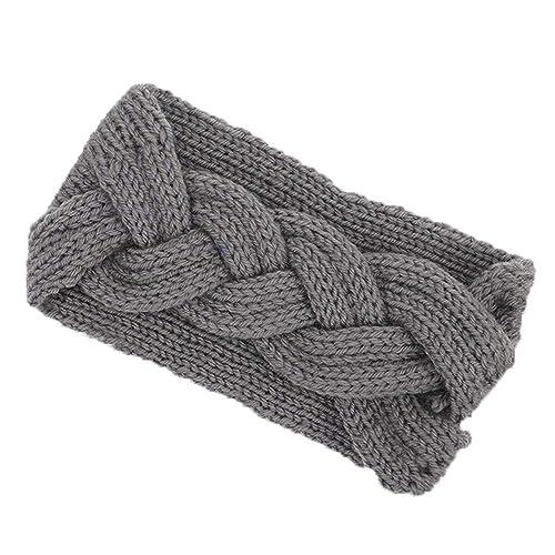 1097420857c11d Damen Stirnband Winter Kopfband Haarband, Oyedens Frauen Gestrickte  Stirnbänder Winter warme Kopf wickeln breites Haar
