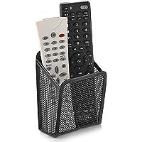 Ivosmart Wall Mount Metal TV Remote Control Mobile Phone Storage Holder Media Organizer Box