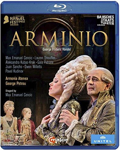 Blu-ray : Arminio (Blu-ray)