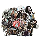 Laptop Stickers 61PCS, Cool Game of Thrones Vinyl Decals for Water Bottle Hydro