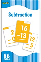 Subtraction (Flash Kids Flash Cards) Cards