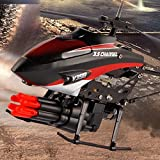 Missile Shooting RC Helicopter - Etbotu Remote-controlled Helicopter model, with 6 Missiles and 2 motors, Plastic