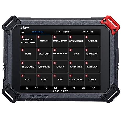 Programador del sistema electrónico X100 Pad2 de Xtool con 4 sistemas de diagnó