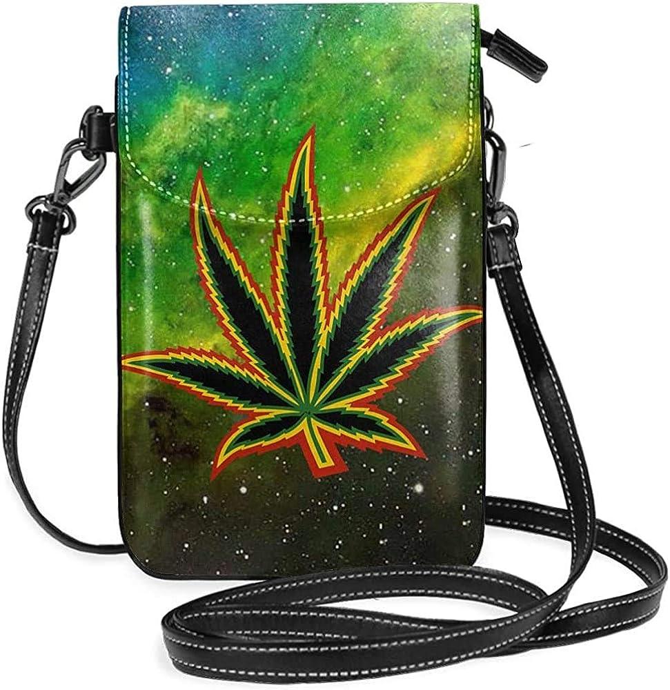 Inner-shop Maletas para marihuana Monedero plano para teléfono móvil Monedero Monedero Funcional Multi bolsillo