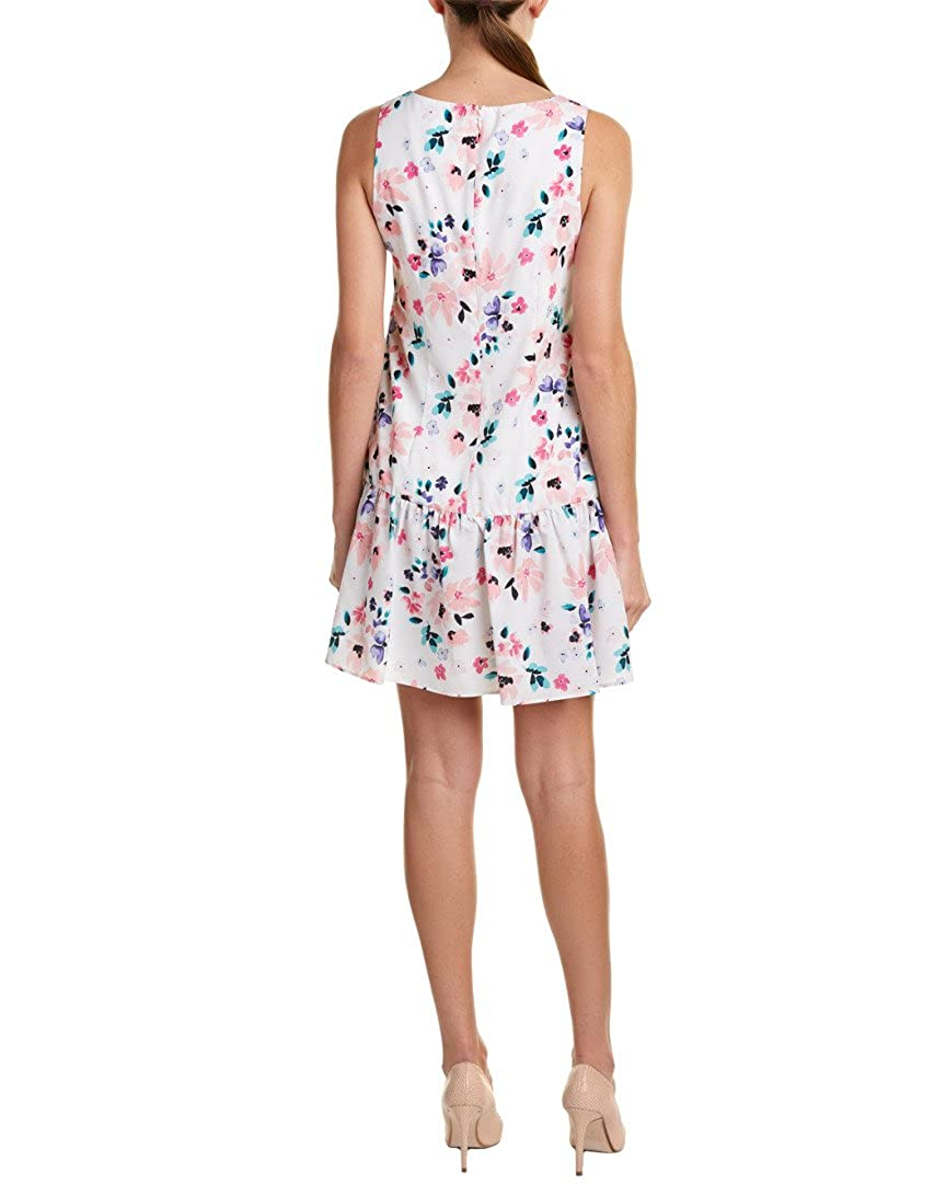 73038293 CeCe Pale Pink Womens Floral Print Sheath Dress White 4 at Amazon Women's  Clothing store: