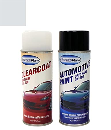 ExpressPaint Aerosol Ford Explorer Automotive Touch-up Paint - Silver Birch  Pearl Metallic Clearcoat JP