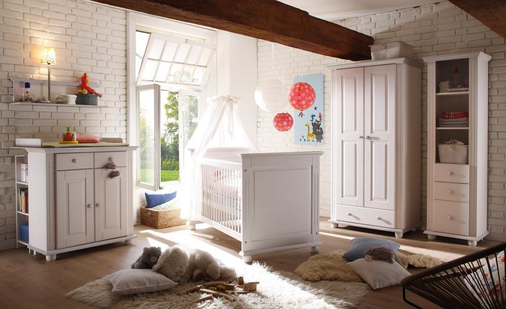 Babyzimmer Kinderzimmer Komplett Set Babymöbel 4 Tlg