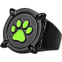 Ladybug Miraculous Costume Ring Girls - Cat Nior Ring US Size 6 Gifts for Kids Black