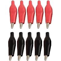 5 Pares Negro y Rojo de Pruebas eléctrica