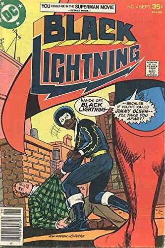 Black Lightning (1st Series) #4 FN ; DC comic (1977 Dc Comic Book)