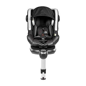 Swivel Car Seat >> Swivel Car Seat Rotating Group 0 1 Isofix Black Grey Ms