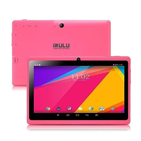 iRULU Tablet de 7 Pulgadas Google Android 8.1 Quad Core 1024x600 Cámara Dual Wi-Fi Bluetooth 1GB/8GB Play Store Netfilix Skype Juego 3D Compatible con ...