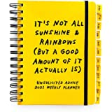 Unsolicited Advice 2021 Weekly Planner & Journal with Stickers