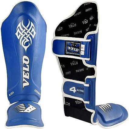 Shin Instep Pads Gel MMA Leg Foot Guards Muay Thai Kick Boxing Foam Pad bag