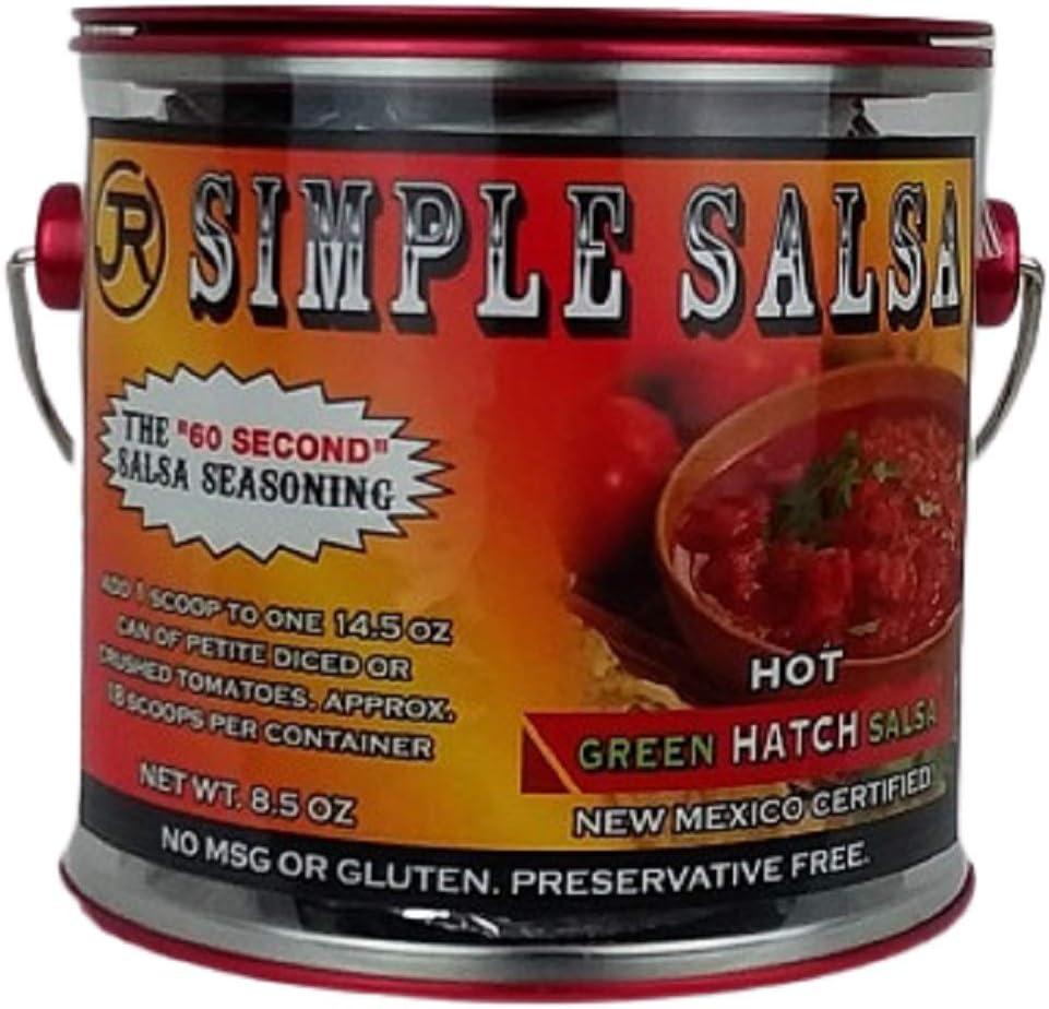 Simple Salsa New Mexico Green Hatch Mild, Mild Heat,MSG & Gluten Free
