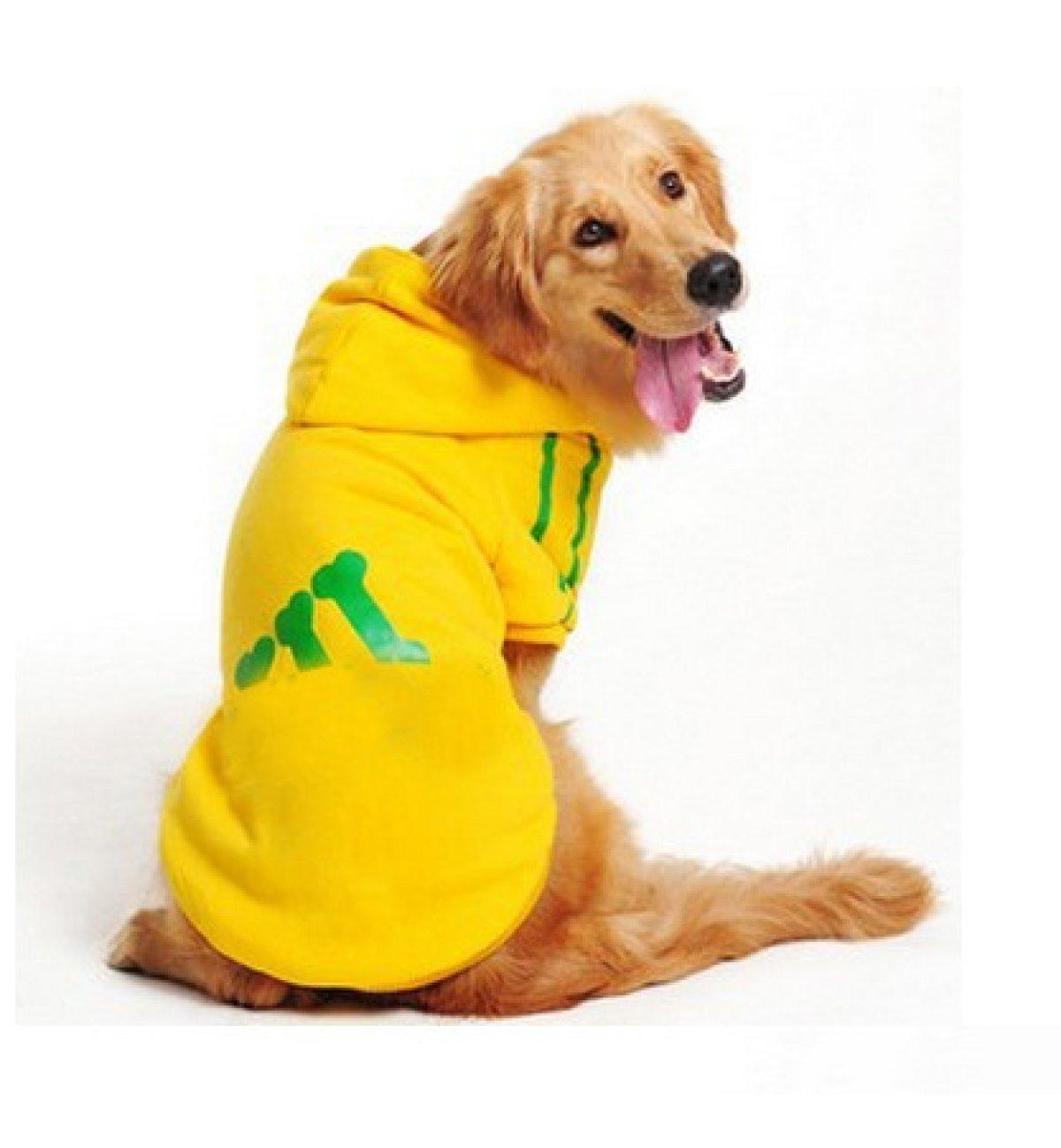 DUOZE Modelos De Invierno Perro Grande Piernas Suéter Ropa para Perros Ropa De Algodón Acolchado Ropa para Mascotas,Grey-XXXL: Amazon.es: Hogar