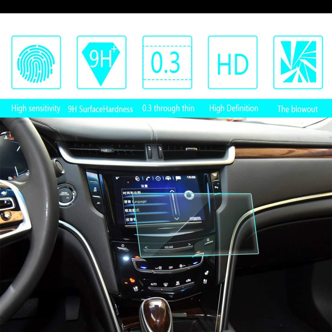 104mm Car Screen Tempered Film Navigation Screen Protector HD ...