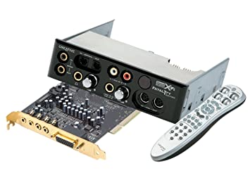 Creative Labs Sound Blaster X-Fi Fatal1tyTM FPS FR PCI ...