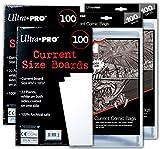 Ultra PRO Current Size Comic Board & Bag 2 Pack Bundle