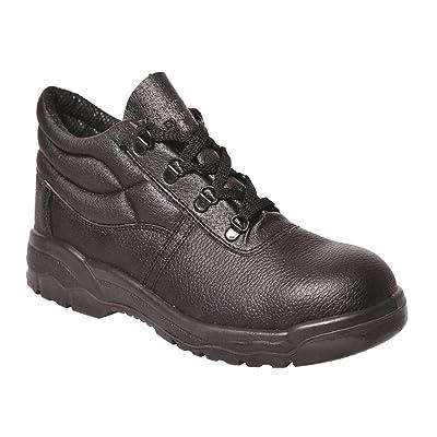 Portwest UFW10BKR0130 Regular Fit Steelite Protector Boot, Size 13, Black: Home Improvement